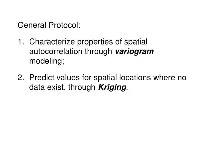 General Protocol: