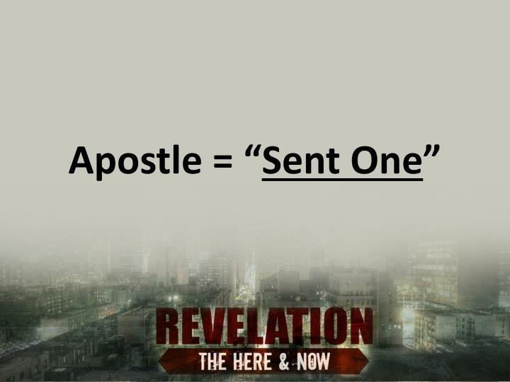 """Apostle = """""""
