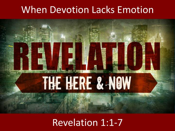 when devotion lacks emotion