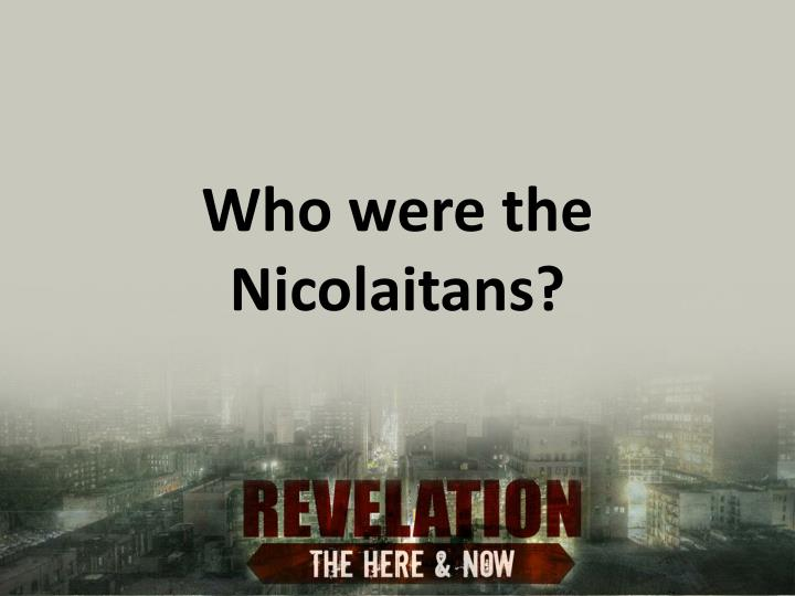 Who were the