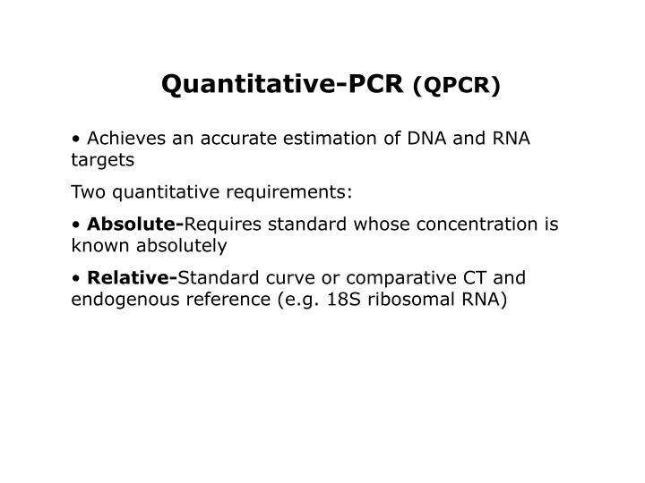 Quantitative-PCR