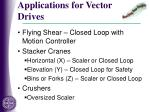 applications for vector drives3