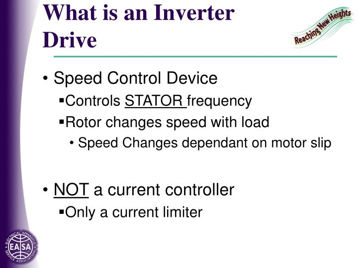 What is an Inverter Drive