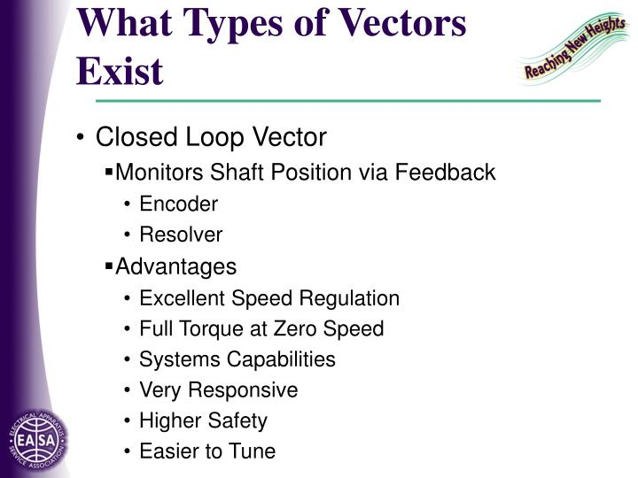 What Types of Vectors Exist