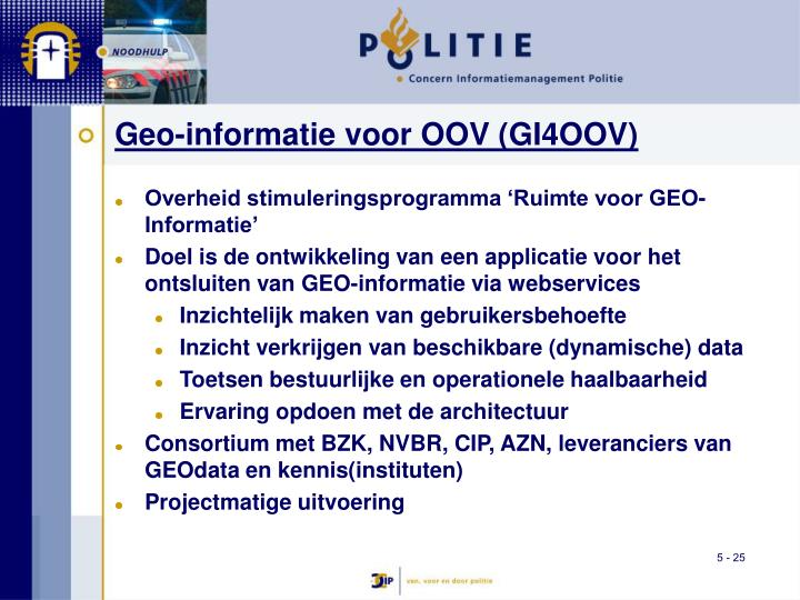 Geo-informatie voor OOV (GI4OOV)