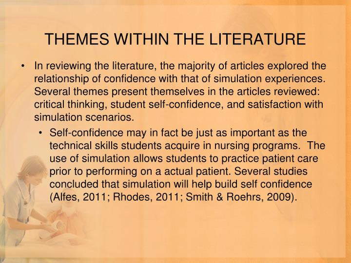 THEMES WITHIN THE LITERATURE