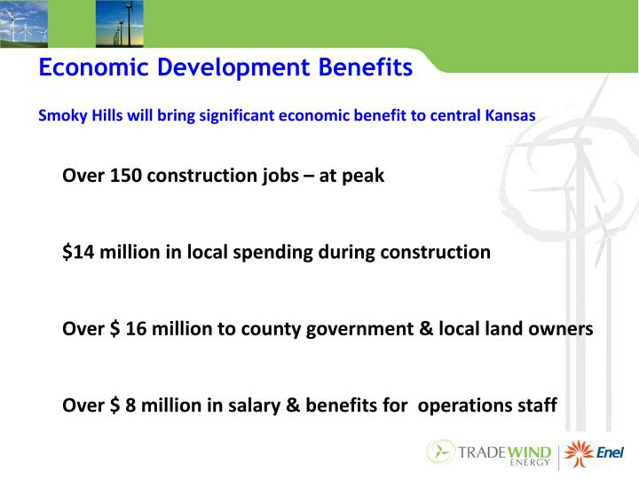Economic Development Benefits