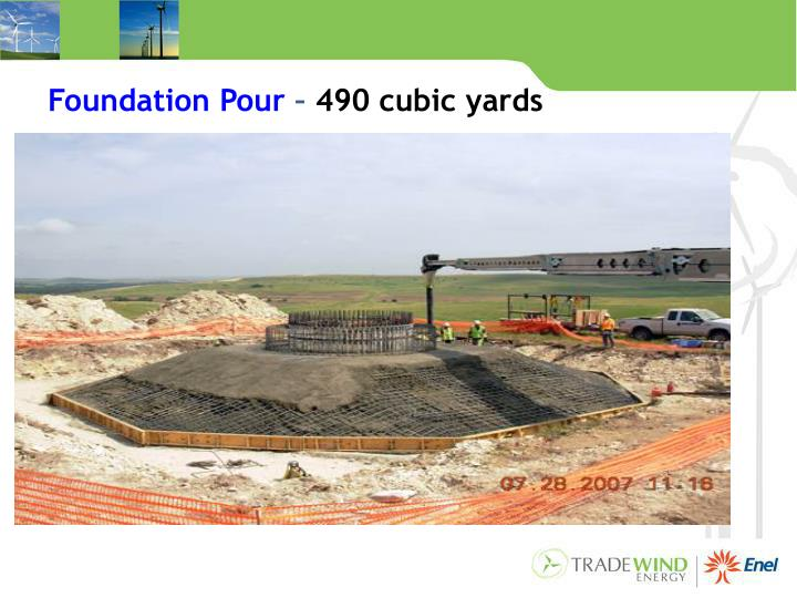 Foundation Pour