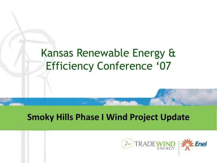 Kansas renewable energy efficiency conference 07