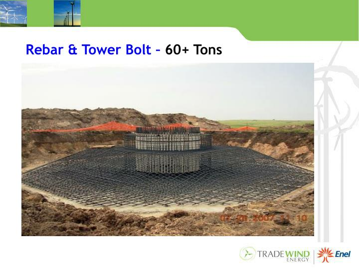 Rebar & Tower Bolt –