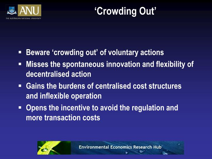 'Crowding Out'