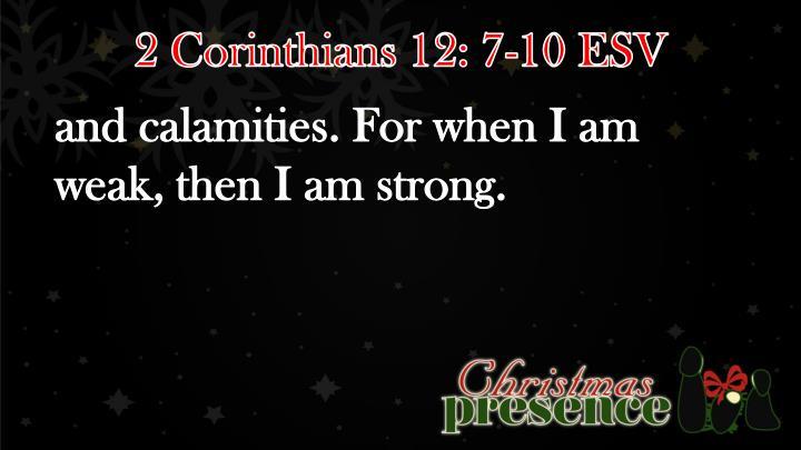 2 Corinthians 12: