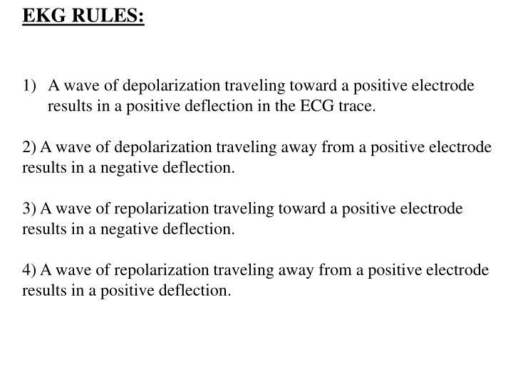 EKG RULES: