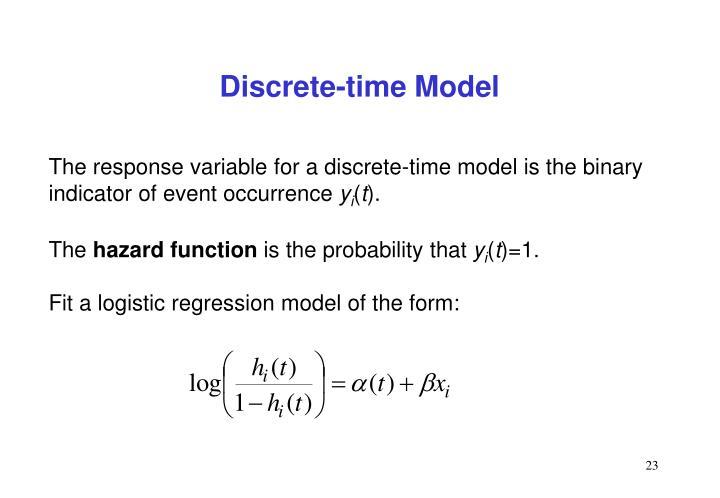 Discrete-time Model