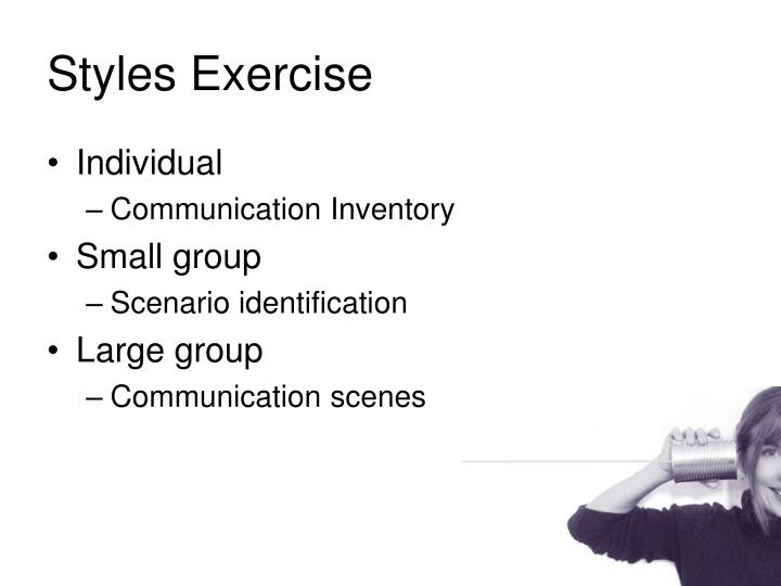 Styles Exercise