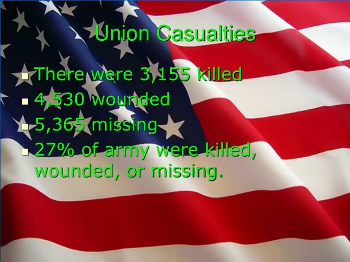 Union Casualties