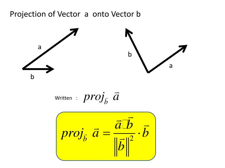 Vector projection onto plane calculator