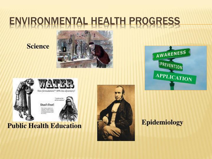 Environmental Health Progress