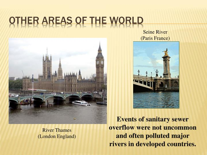 Other Areas of the world