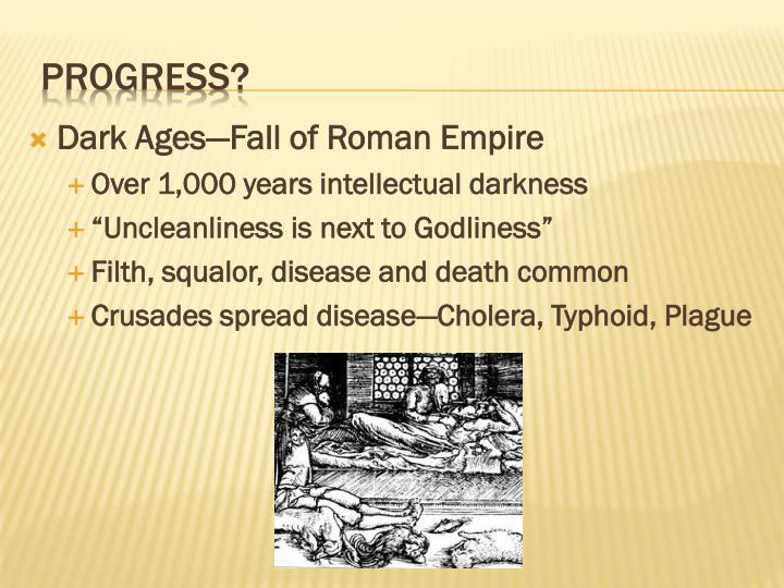 Dark Ages—Fall of Roman Empire