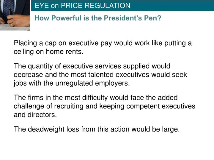 EYE on PRICE REGULATION