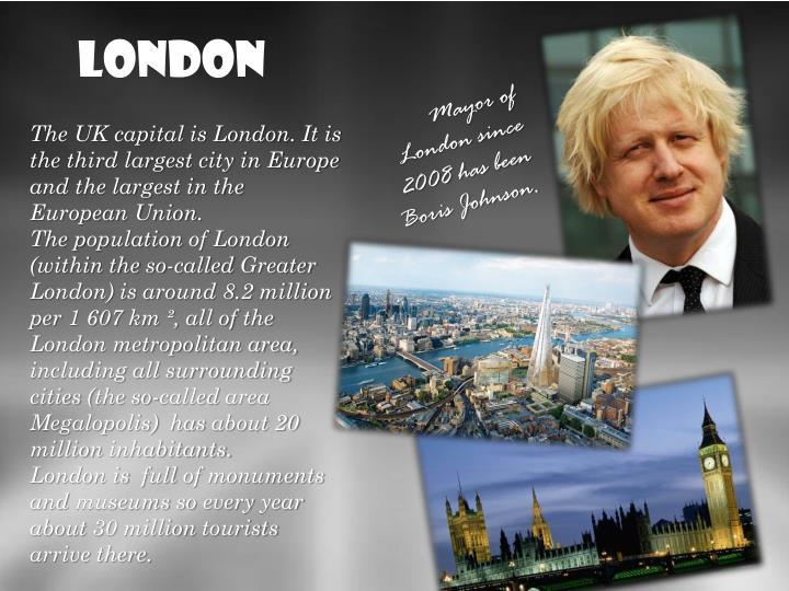 Liczba mieszkańców Londynu (w granicach tzw.