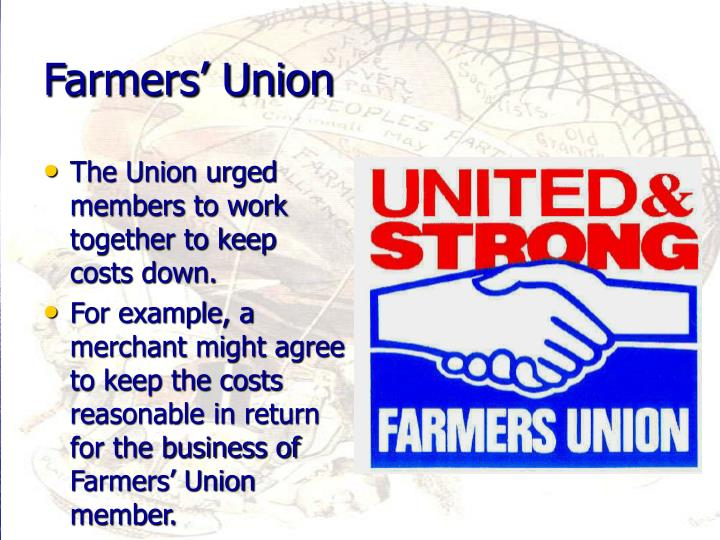 The Union urged members to work together to keep costs down.