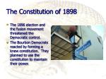 the constitution of 1898