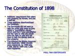 the constitution of 18981