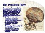 the populists party