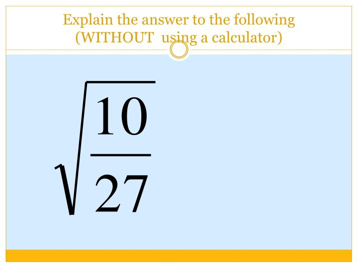 Explain the answer to the following