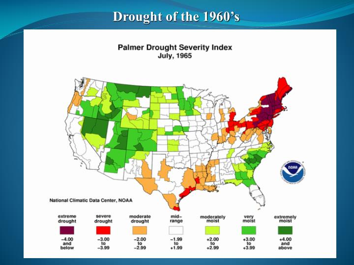 Drought of the 1960's