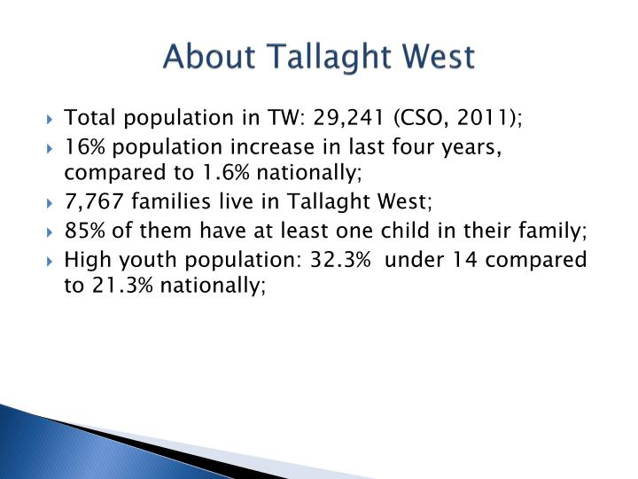 About Tallaght West