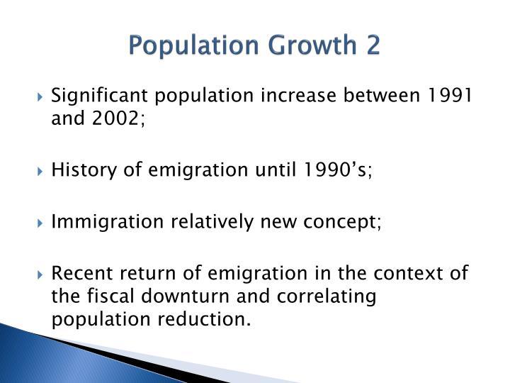 Population Growth 2
