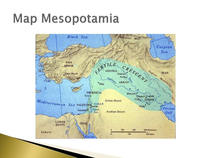 Map Mesopotamia