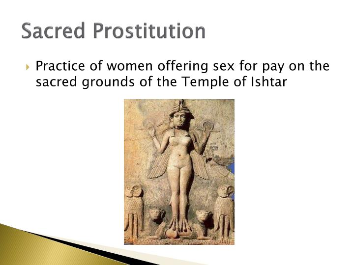 Sacred Prostitution