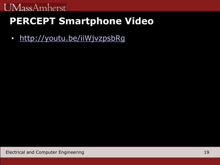 PERCEPT Smartphone Video