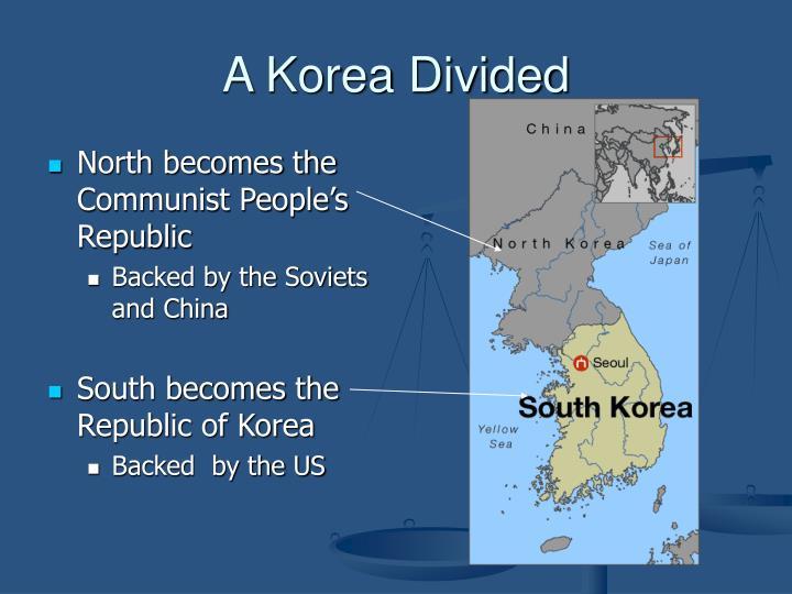 A Korea Divided