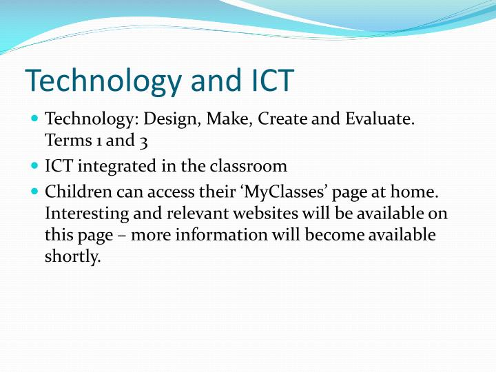 Technology and ICT