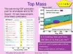 top mass1