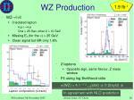 wz production