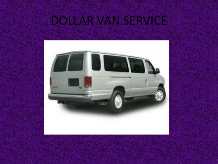 DOLLAR VAN SERVICE