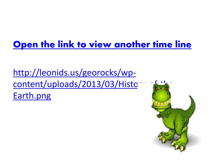 Open the link to view another time line