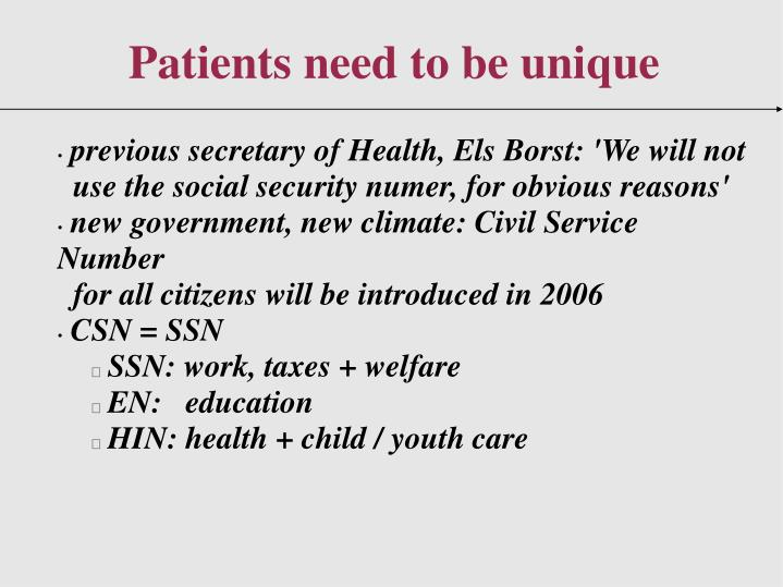 previous secretary of Health, Els Borst: 'We will not