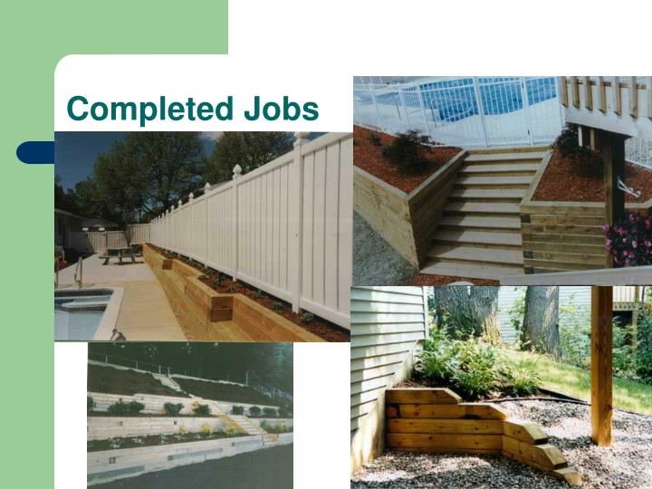 Completed Jobs