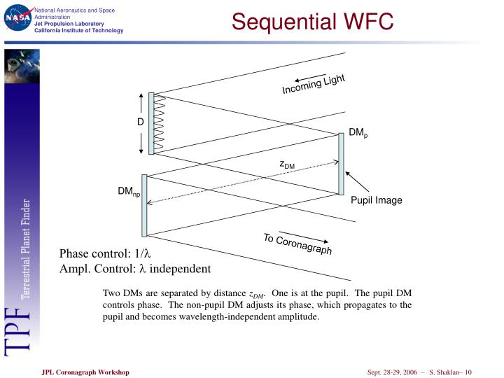 Sequential WFC