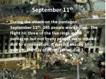 september 11 th