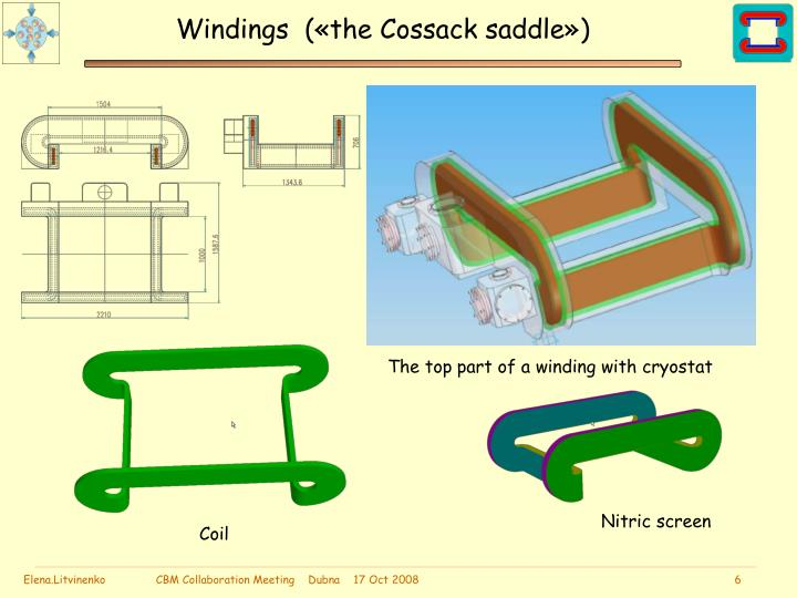Windings  («the Cossack saddle»)