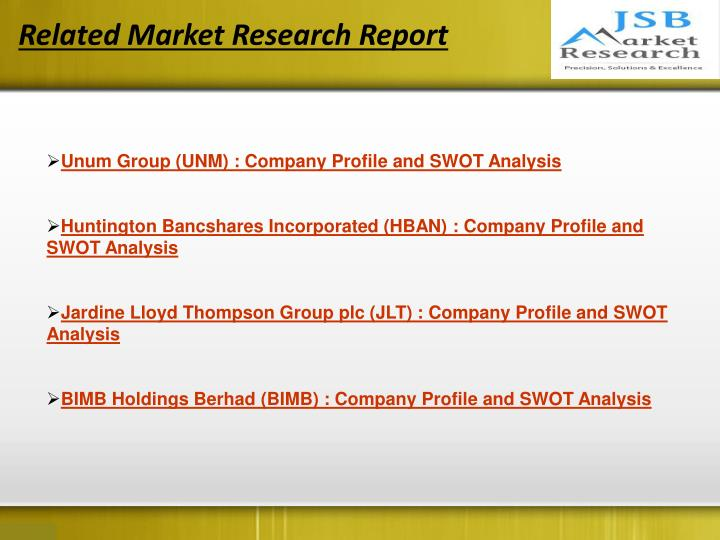Related Market Research Report