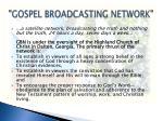 gospel broadcasting network1